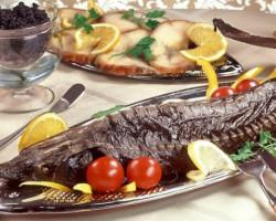 Осетр — красная рыба с белым мясом